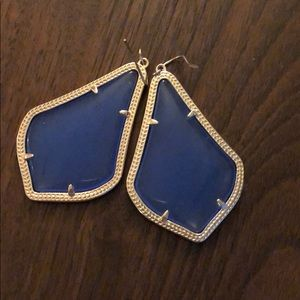 Cobalt  Blue Kendra Scott Earrings